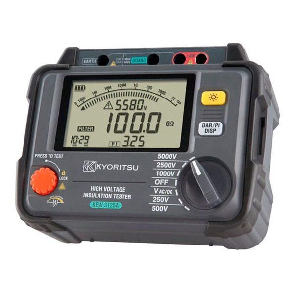 Kyoritsu 3125 -1 isolatieweerstandmeter