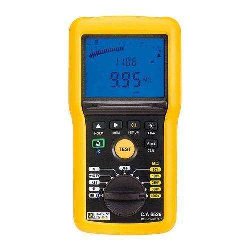 Chauvin Arnoux CA6526 isolatieweerstandmeter